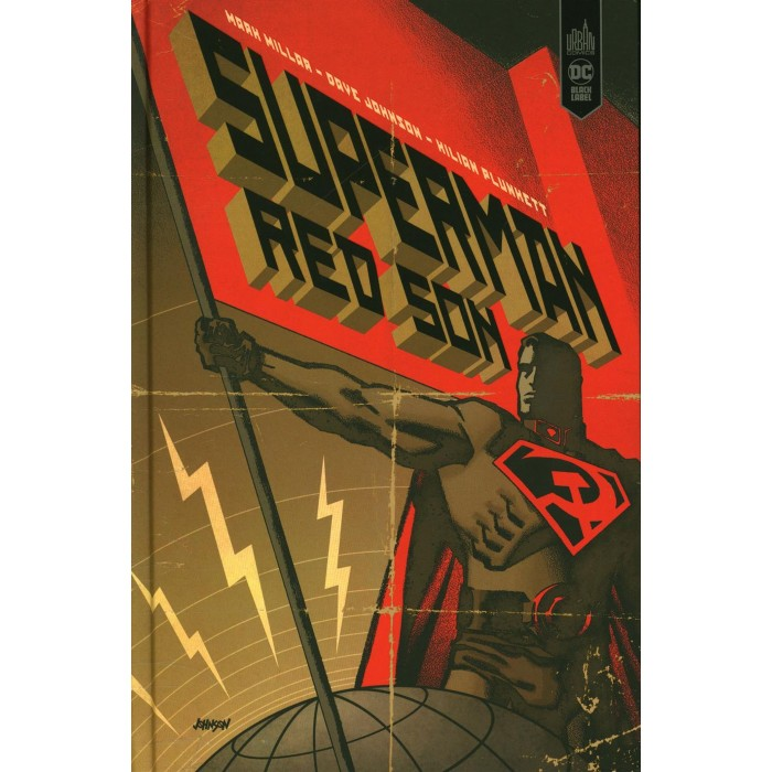 SUPERMAN RED SON - ÉDITION 2020 DC BLACK LABEL- URBAN COMICS (2020)