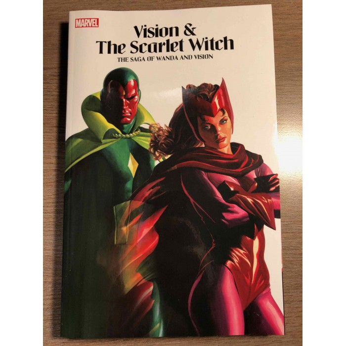 VISION & THE SCARLET WITCH: THE SAGA OF WANDA AND VISION TP - MARVEL (2021)