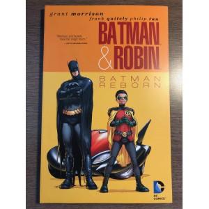 BATMAN & ROBIN TP: BATMAN REBORN - GRANT MORRISON - DC COMICS (2011)