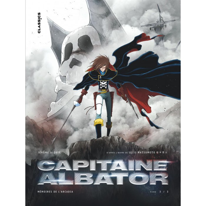 CAPITAINE ALBATOR - MÉMOIRE DE L'ARCADIA TOME 03 - KANA (2020)
