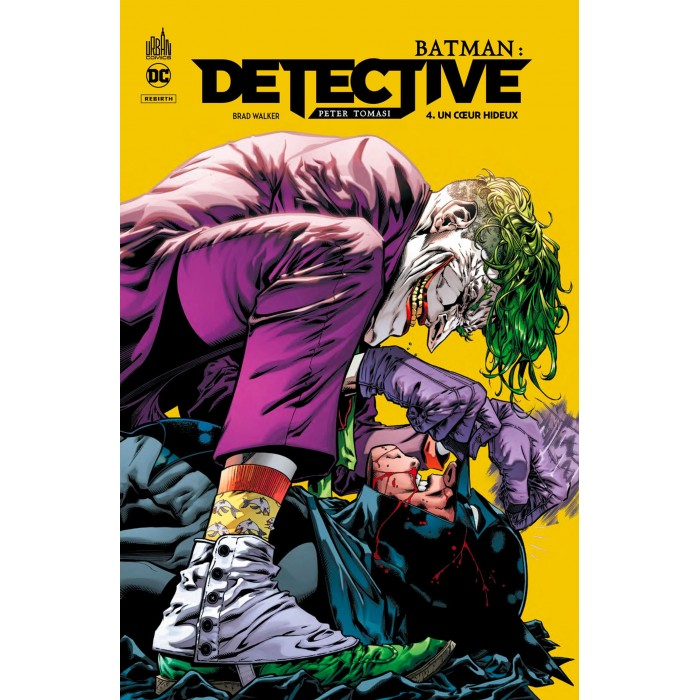 BATMAN DÉTECTIVE TOME 04 - UN COEUR HIDEUX - URBAN COMICS (2021)