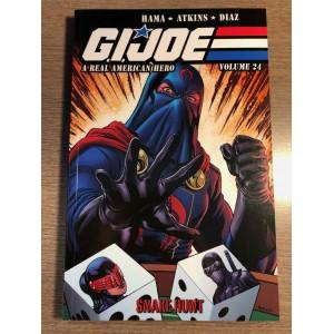 G.I. JOE A REAL AMERICAN HERO TP VOL. 24 - SNAKE HUNT - IDW (2021)