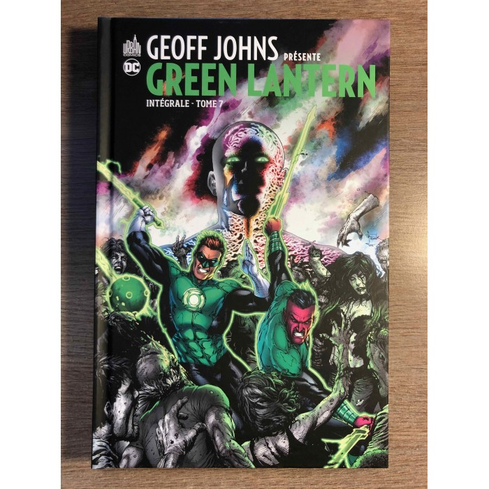 GEOFF JOHNS PRÉSENTE GREEN LANTERN INTÉGRALE TOME 7 - URBAN COMICS (2021)