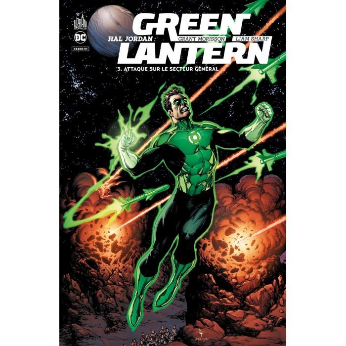 HAL JORDAN GREEN LANTERN TOME 03 - ATTAQUE SUR LE SECTEUR GÉNÉRAL - URBAN COMICS (2021)