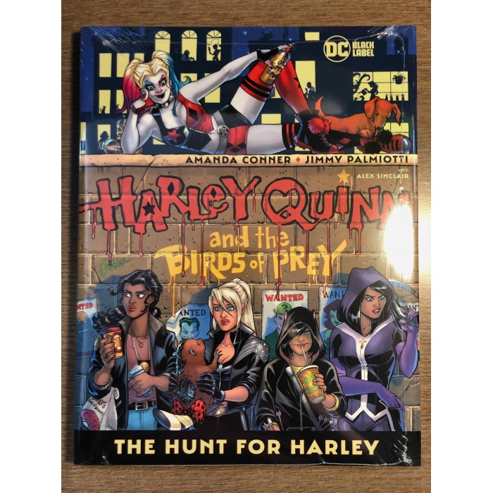 HARLEY QUINN AND THE BIRDS OF PREY HC - DC BLACK LABEL (2021)