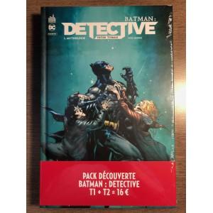 BATMAN DÉTECTIVE TOMES 01-02  PACK DÉCOUVERTE  URBAN COMICS (2021)