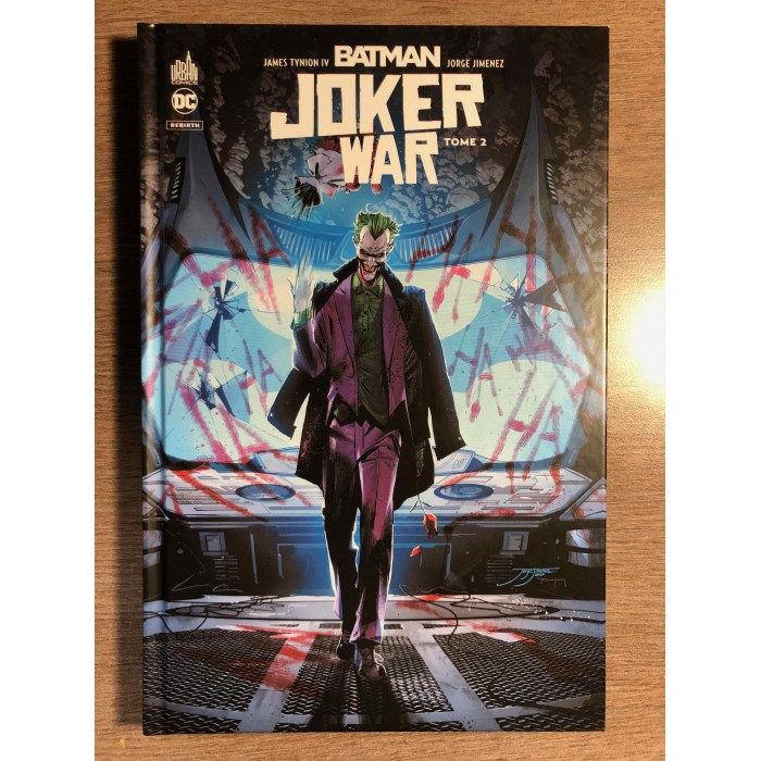 BATMAN JOKER WAR TOME 02 - URBAN COMICS (2021)