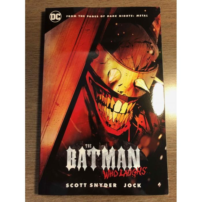 BATMAN WHO LAUGHS TP - SNYDER / JOCK - DC COMICS (2021)