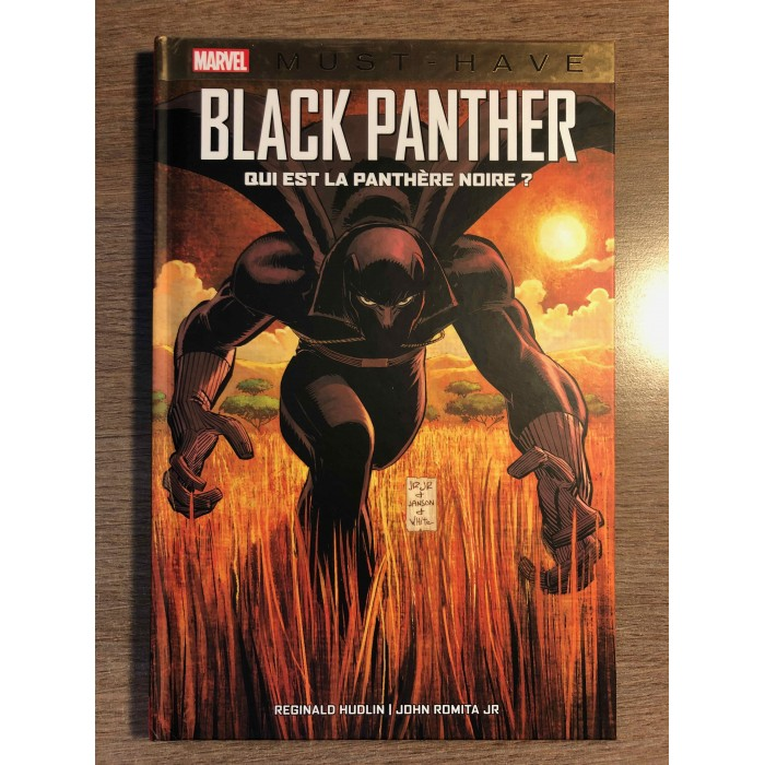 BLACK PANTHER: QUI EST LA PANTHÈRE NOIRE? - COLLECTION MARVEL MUST HAVE - PANINI COMICS (2021)