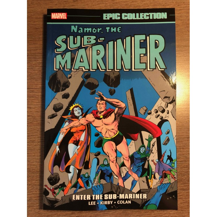 NAMOR THE SUB-MARINER EPIC COLLECTION TP VOL. 01 - ENTER THE SUB-MARINER - MARVEL (2021)