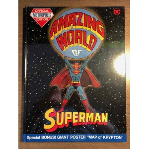 AMAZING WORLD OF SUPERMAN HC - TABLOID EDITION - DC COMICS (2021)
