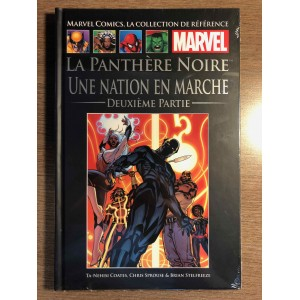 COLLECTION DE RÉFÉRENCE MARVEL TOME 134 - PANTHÈRE NOIRE: UNE NATION EN MARCHE 2E PARTIE - HACHETTE (2021)