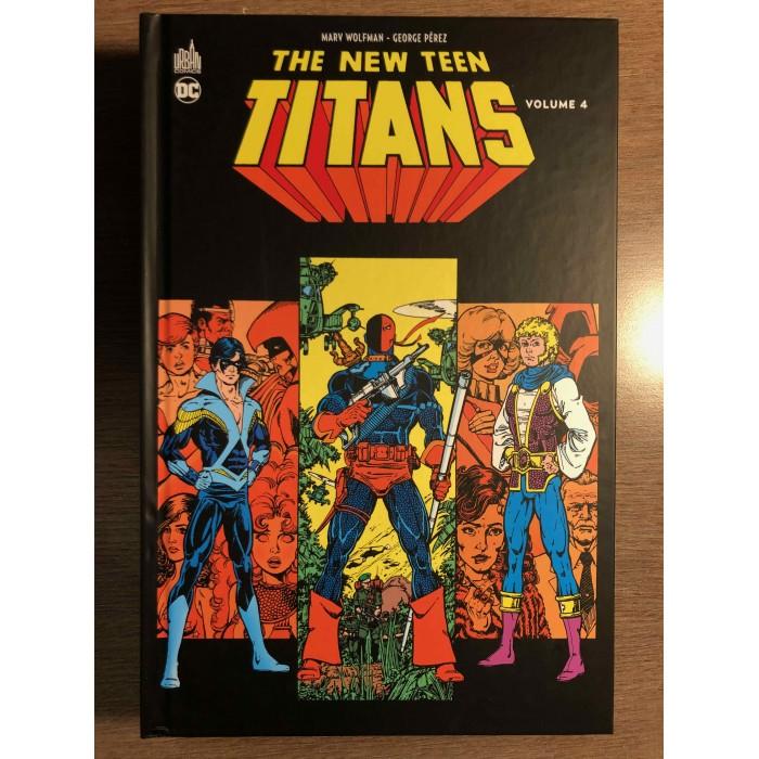THE NEW TEEN TITANS VOLUME 4 - URBAN COMICS (2021)