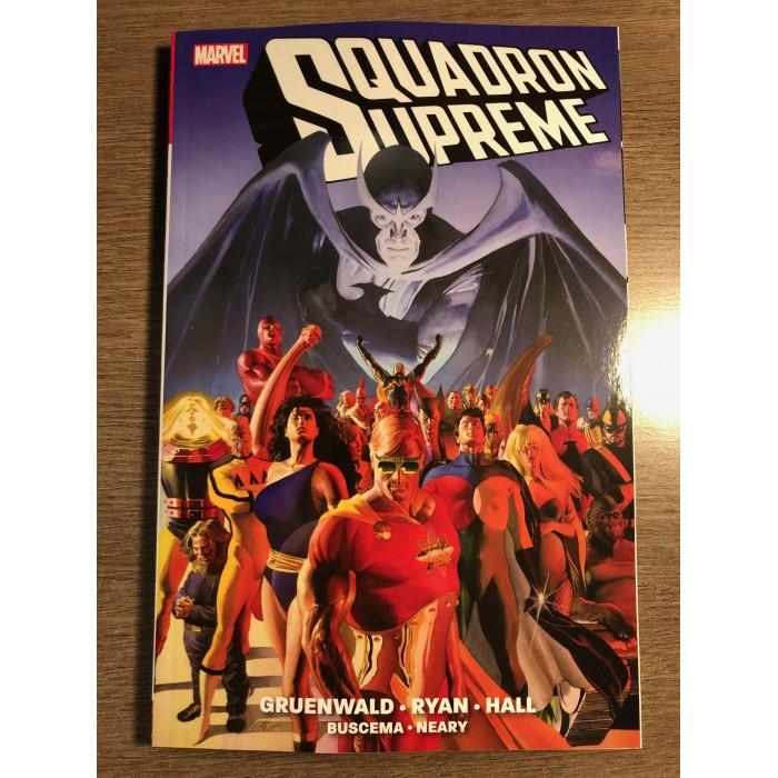 SQUADRON SUPREME TP NEW PRINTING - ALEX ROSS COVER - MARVEL (2021)