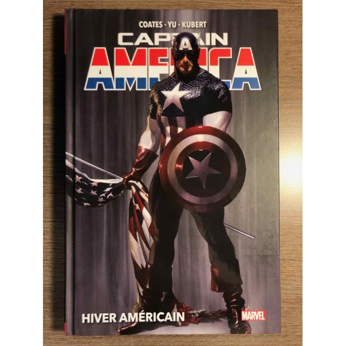 CAPTAIN AMERICA T01: HIVER AMÉRICAIN - MARVEL DELUXE - PANINI COMICS (2021)