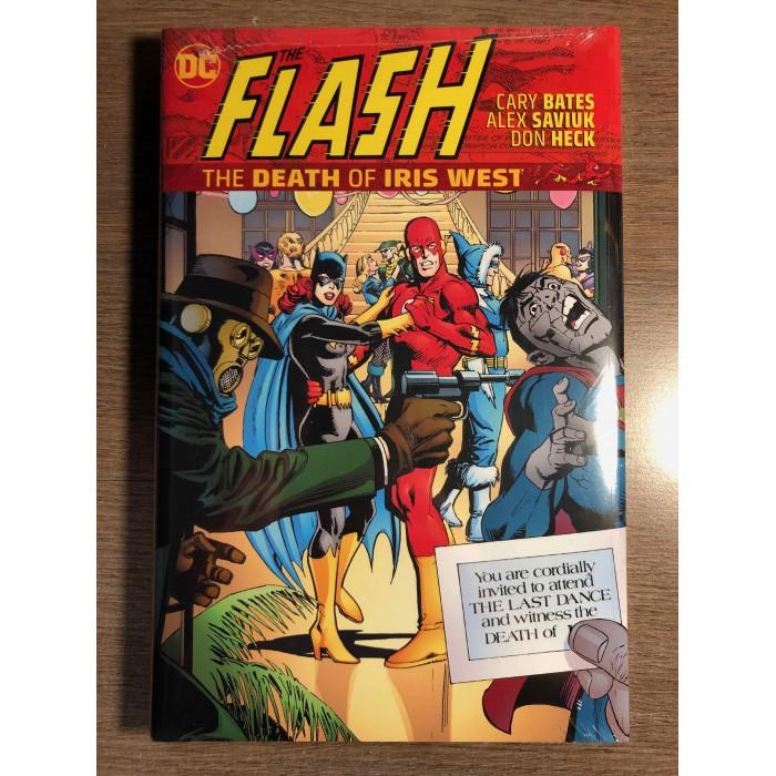 FLASH: THE DEATH OF IRIS WEST HC - DC COMICS (2021)