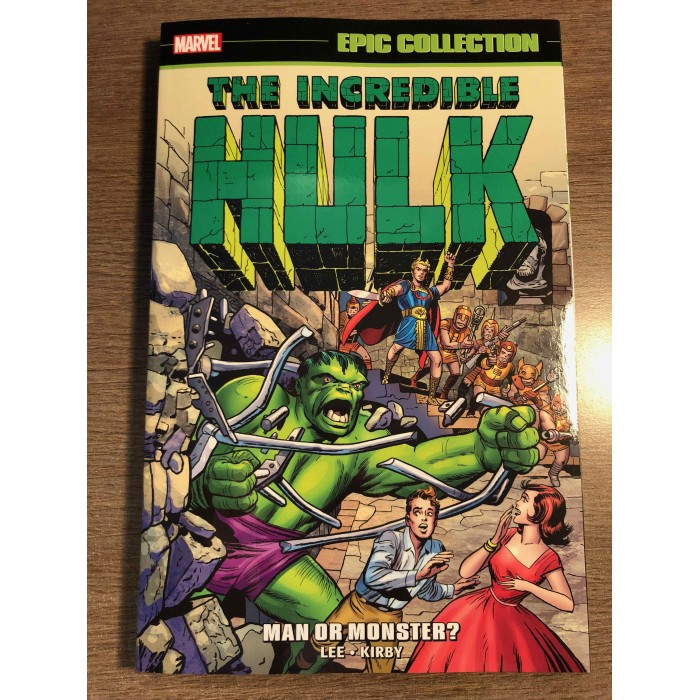 INCREDIBLE HULK EPIC COLLECTION TP VOL. 01 NEW PTG - MAN OR MONSTER? - MARVEL (2021)