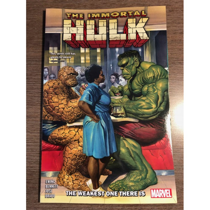 IMMORTAL HULK TP VOL. 09 - THE WEAKEST ONE THERE IS - MARVEL (2021)
