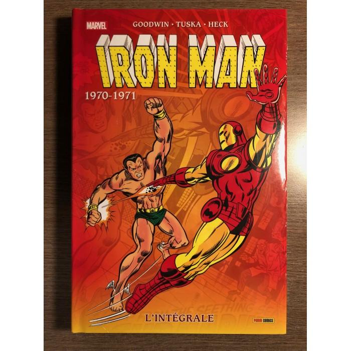 IRON MAN INTÉGRALE 1970-1971 - NOUVELLE ÉDITION - PANINI COMICS (2021)
