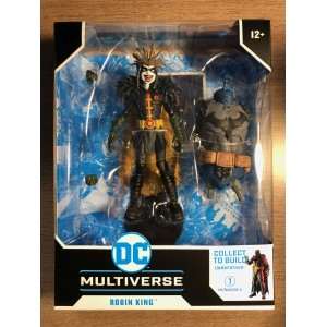 DC MULTIVERSE ACTION FIGURE WV4 DEATH METAL - ROBIN KING WITH BUILD-A DARKFATHER PIECES - McFARLANE TOYS