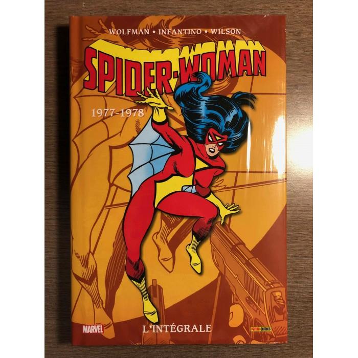 SPIDER-WOMAN INTÉGRALE 1977-1978- PANINI COMICS (2021)