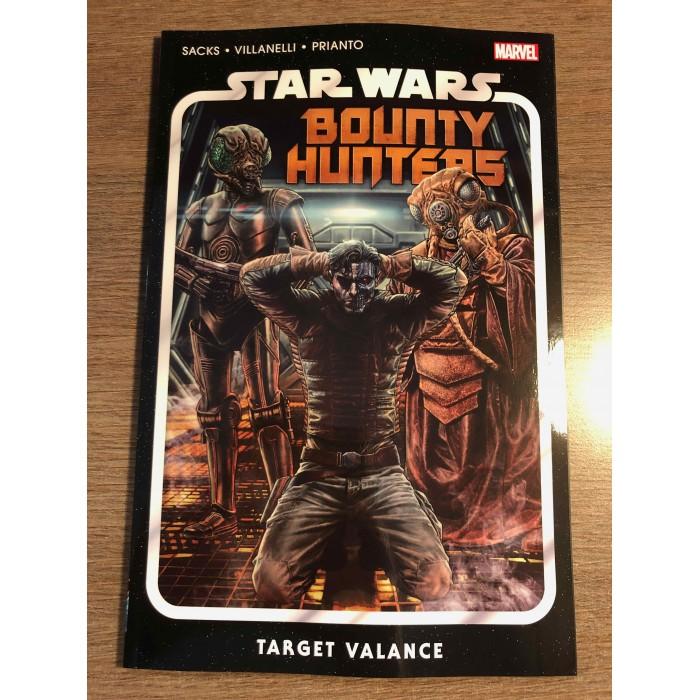 STAR WARS BOUNTY HUNTERS TP VOL. 02 - TARGET VALANCE - MARVEL (2021)