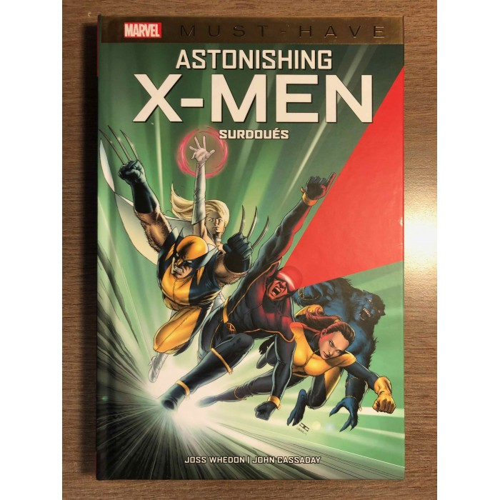 ASTONISHING X-MEN: SURDOUÉS - COLLECTION MARVEL MUST HAVE - PANINI COMICS (2021)