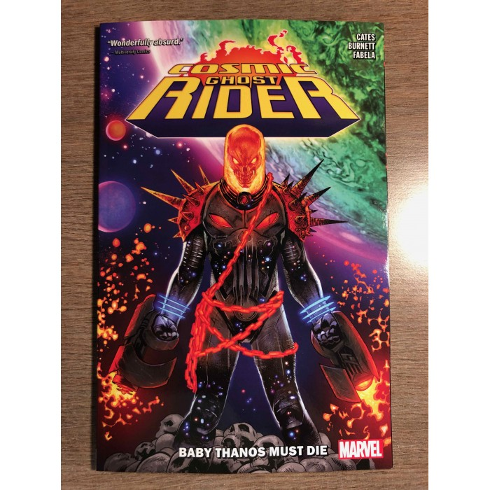 COSMIC GHOST RIDER TP - BABY THANOS MUST DIE - DONNY CATES - MARVEL (2019)