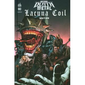 BATMAN DEATH METAL #3 ÉDITION SPÉCIALE LACUNA COIL - URBAN COMICS (2021)