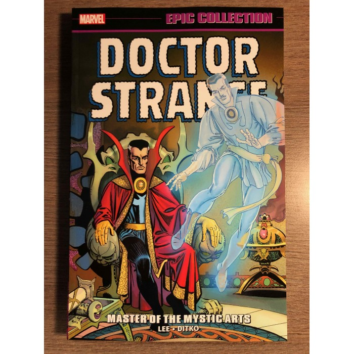 DOCTOR STRANGE EPIC COLLECTION TP VOL. 01 - MASTER OF THE MYSTIC ARTS - NEW PTG MARVEL (2021)
