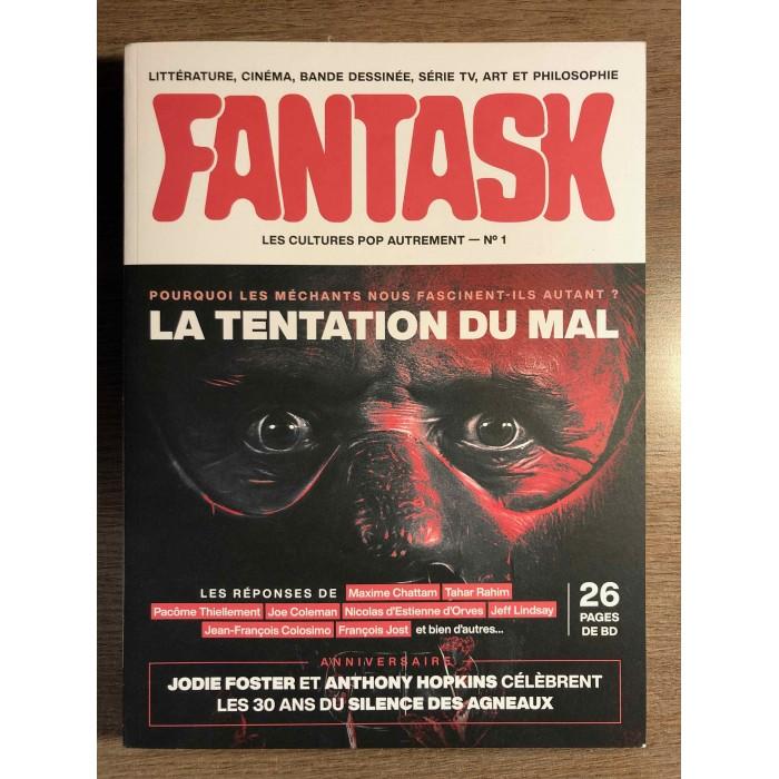 FANTASK #01 LA TENTATION DU MAL - FANTASK / DARGAUD (2021)