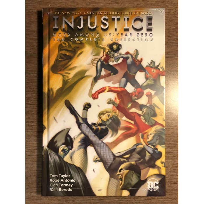 INJUSTICE GODS AMONG US YEAR ZERO HC - THE COMPLETE COLLECTION - DC COMICS (2021)