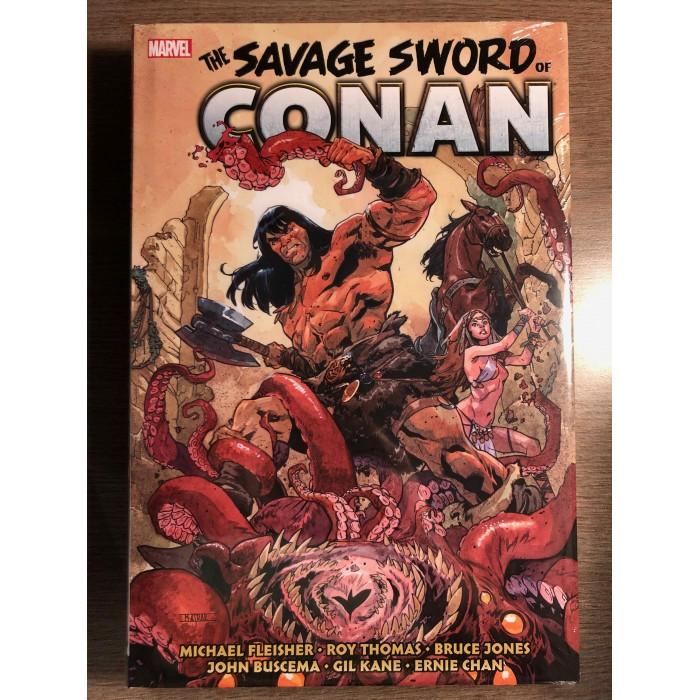 SAVAGE SWORD OF CONAN OMNIBUS HC VOL. 05 - MARVEL (2021)