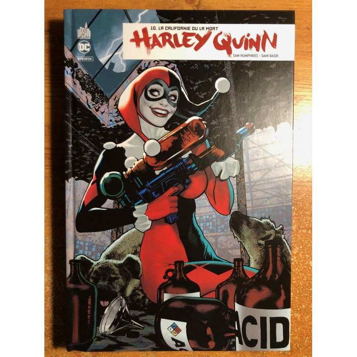 HARLEY QUINN REBIRTH 10 - LA CALIFORNIE OU LA MORT - URBAN COMICS (2021)