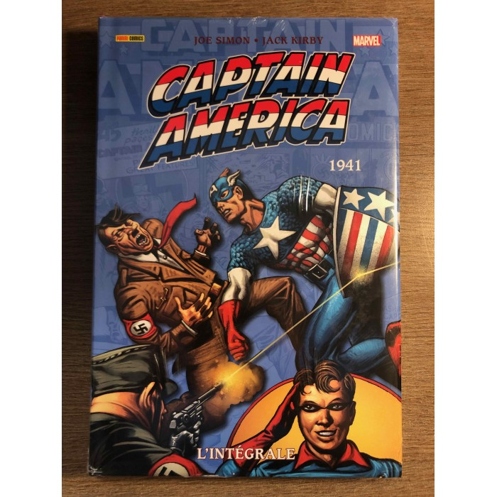 CAPTAIN AMERICA INTÉGRALE 1941 - PANINI COMICS (2021)