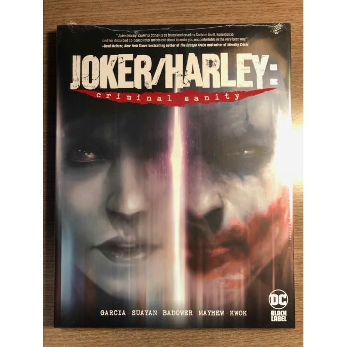 JOKER/HARLEY: CRIMINAL SANITY HC - DC BLACK LABEL (2021)