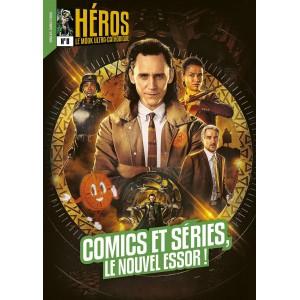 HÉROS #8 COMICS ET SÉRIES, LE NOUVEL ESSOR - YNNIS (2021)