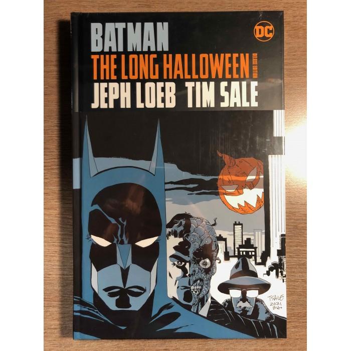 BATMAN THE LONG HALLOWEEN DELUXE EDITION HC - DC COMICS (2021)