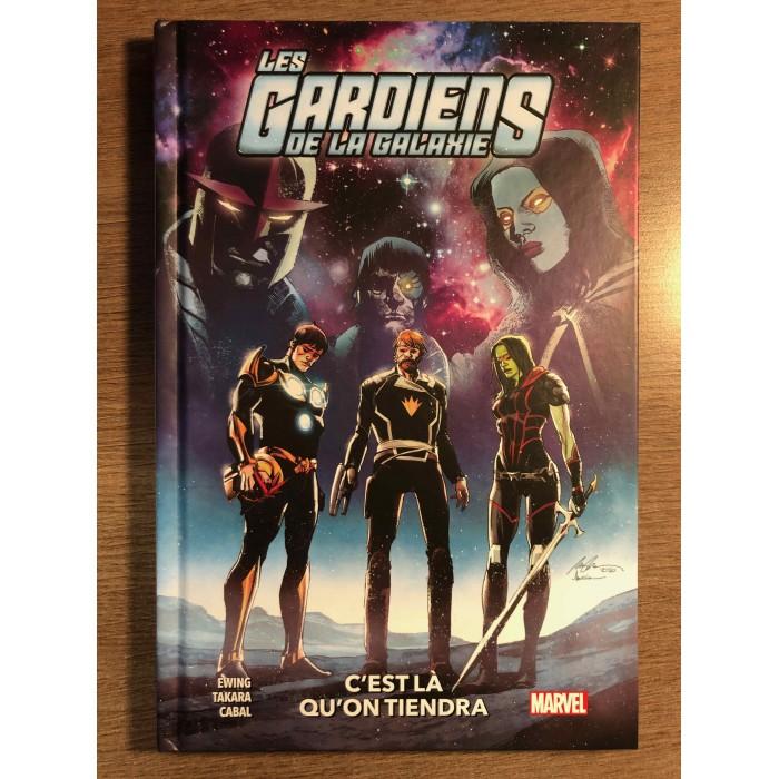 GARDIENS DE LA GALAXIE T02 - C'EST LÀ QU'ON VIENDRA - PANINI COMICS (2021)