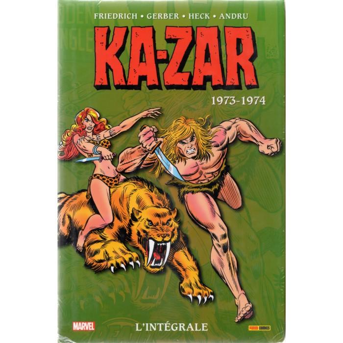 KA-ZAR INTÉGRALE 1973-1974 - PANINI COMICS (2021)