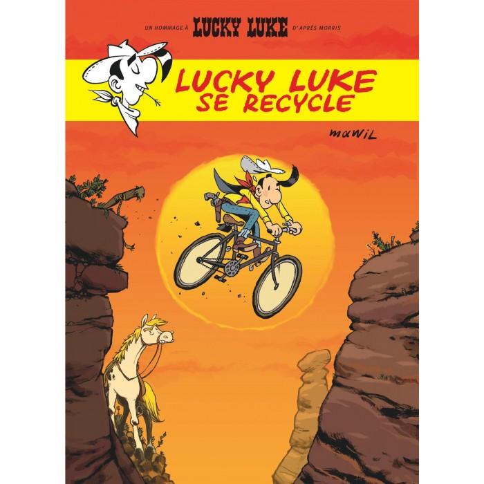 LUCKY LUKE SE RECYCLE - LUCKY COMICS (2021)