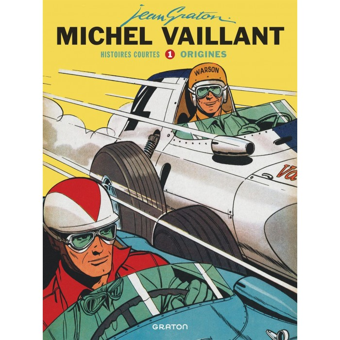 MICHEL VAILLANT HISTOIRES COURTES T01: ORIGINES - GRATON (2021)