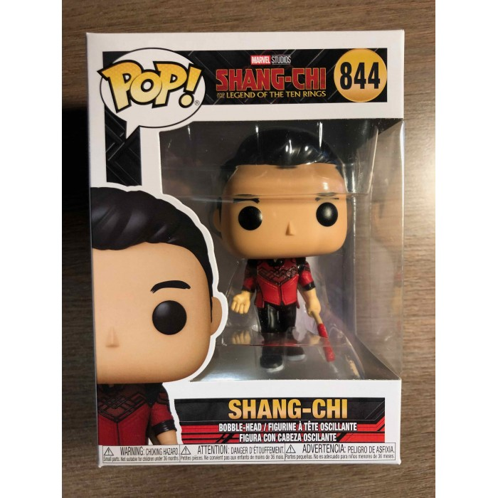FUNKO POP! MARVEL SHANG-CHI AND THE LEGENDS OF THE TEN RINGS #844 - SHANG-CHI