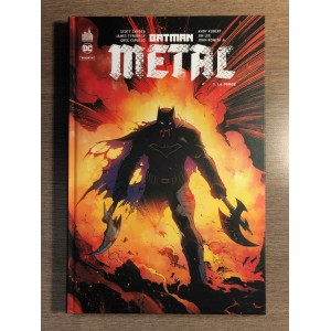 BATMAN MÉTAL TOME 01: LA FORGE - URBAN COMICS (2018)