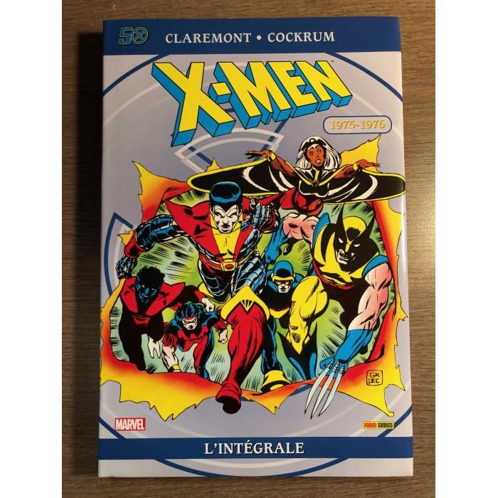 X-MEN INTÉGRALE 1975-1976 - ÉDITION 50e ANNIVERSAIRE - PANINI COMICS (2013)