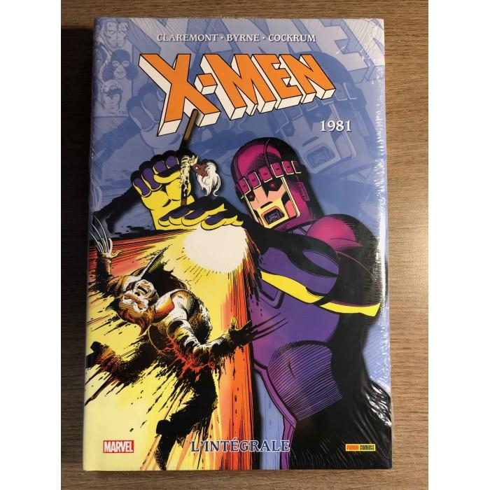X-MEN INTÉGRALE 1981 - NOUVELLE ÉDITION - PANINI COMICS (2019)