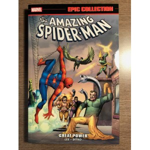 AMAZING SPIDER-MAN EPIC COLLECTION TP VOL. 01 - GREAT POWER - NEW PTG MARVEL (2020)