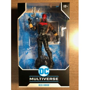 DC MULTIVERSE ACTION FIGURE - NEW 52 RED HOOD - McFARLANE TOYS