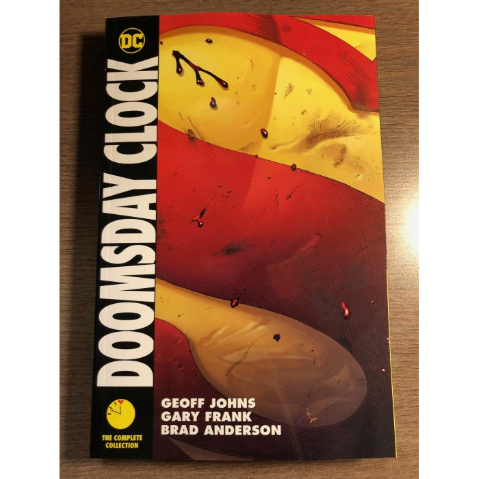 DOOMSDAY CLOCK COMPLETE COLLECTION TP - GEOFF JOHNS / GARY FRANK - DC COMICS (2020)
