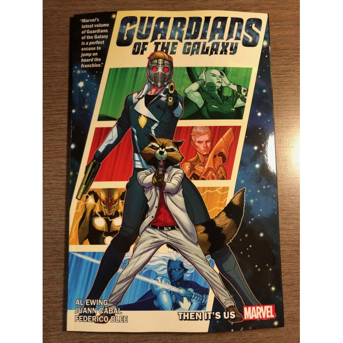 GUARDIANS OF THE GALAXY BY AL EWING TP VOL. 01 - THEN IT'S US - MARVEL (2020)
